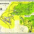 日治時期北投溫泉區地圖 1939,〈台灣鐵道旅行案內〉