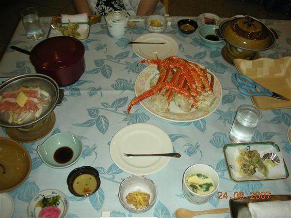 960824-G落腳處RURIKURA RESORT06 晚餐.JPG