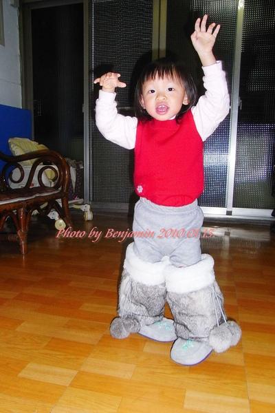 最愛穿娘的鞋!