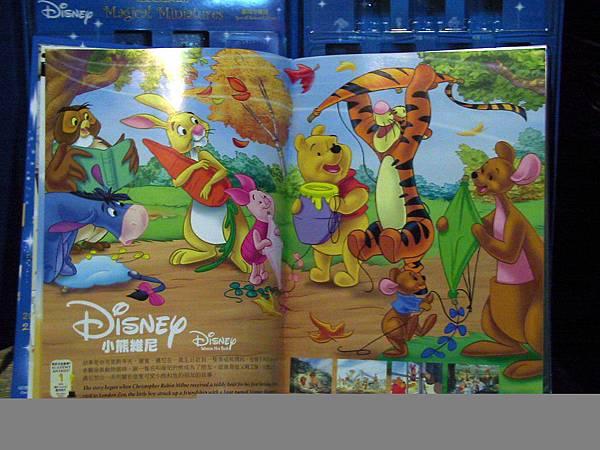 迪士尼經典公仔收集典藏冊內頁之 小熊維尼