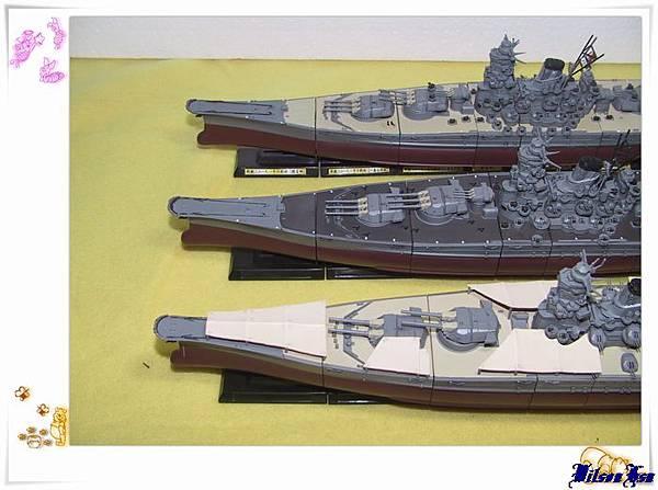 TAKARA 連斬模型系列之「男たちの大和」天一號,捷一號作戰版, A-150計畫版