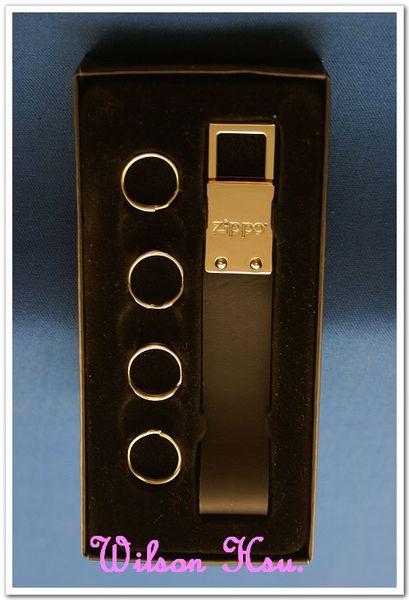 ZIPPO 周邊配件系列--皮革鑰匙圈