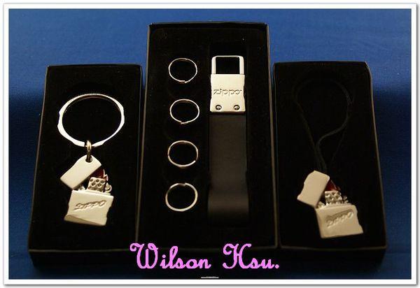 ZIPPO 周邊配件系列--手機吊飾金屬及皮革鑰匙圈三款合照
