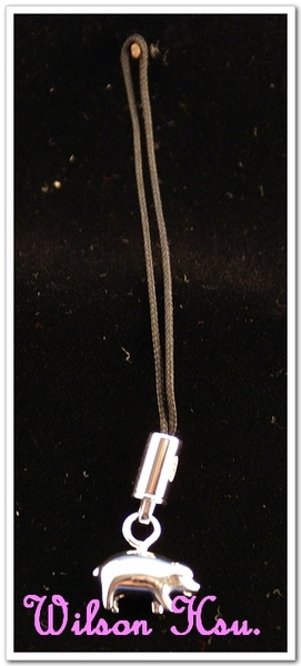 Dunhill 925銀 手機吊飾系列