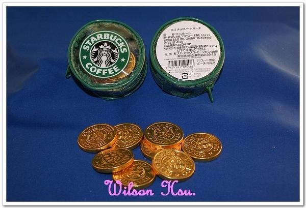 2008年情人節日本發售的金幣巧克力零錢包