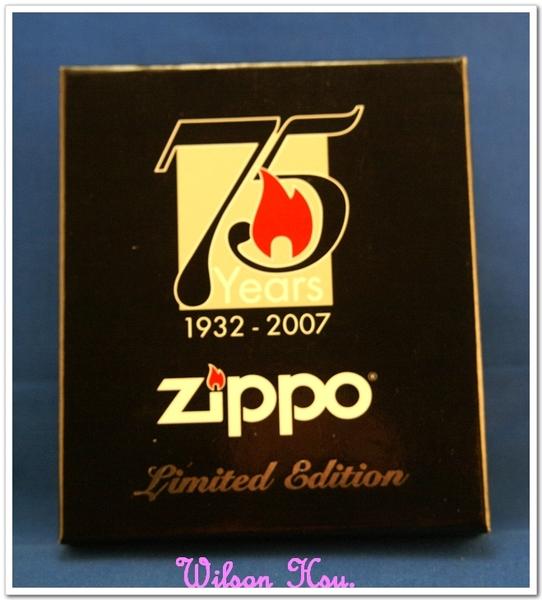 ZIPPO 75 週年限定紀念機