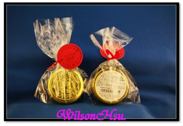 日本在情人節檔期推出的鐵盒金幣巧克力