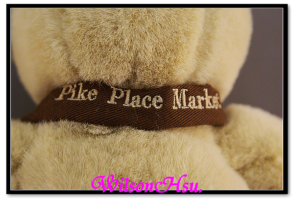 西雅圖派克市場專賣紀念熊(Pike Place Brown Apron)