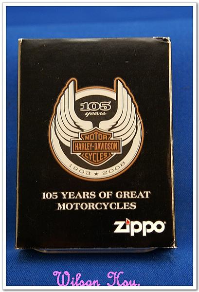Harley-Davidson 創業 105 週年 鍍鉻盔甲機