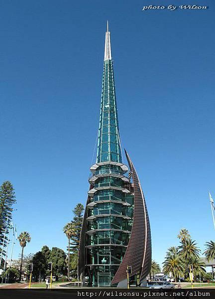 澳洲的天空&天鵝鐘塔01