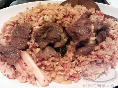 玉陶園韓式料理06泡菜牛肉炒飯.jpg