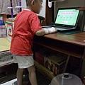 20110621-兒子在家的復健訓練.jpg