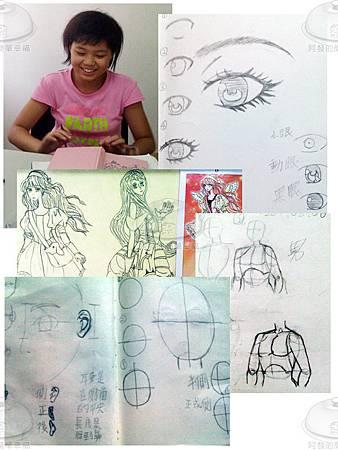 20110811-女兒畫漫畫.jpg