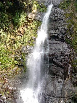 宜蘭礁溪-五峰旗-13-第二層瀑布.jpg