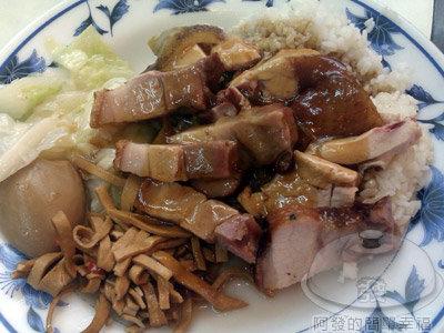 香城燒臘小館11-燒肉油雞飯