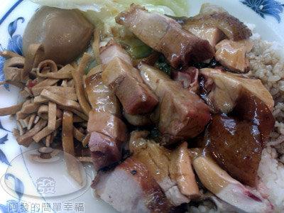 香城燒臘小館12-燒肉油雞飯