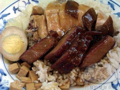 香城燒臘小館16-叉燒油雞飯