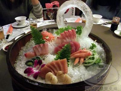 新東南海鮮料理12-深海魚刺身會鮮貝