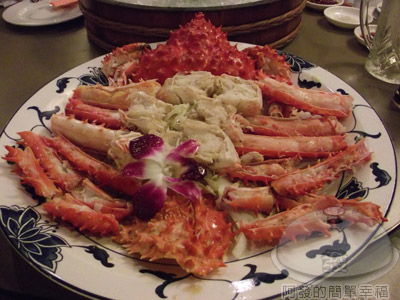 新東南海鮮料理16-智利和風長腳蟹