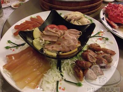 新東南海鮮料理18-五彩大拼盤