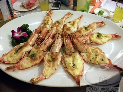新東南海鮮料理25-明蝦起士燒(現流)