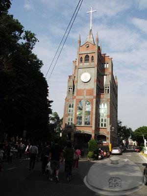 大溪老街-普濟路-基督長老教會