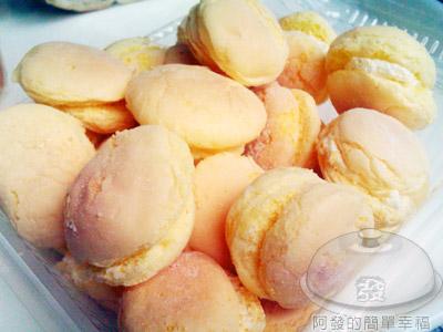 台式馬卡龍(奶油夾心)