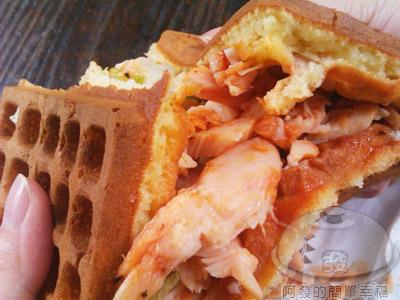 台大-小木屋鬆餅11-紐奧良烤雞蔬菜鬆餅