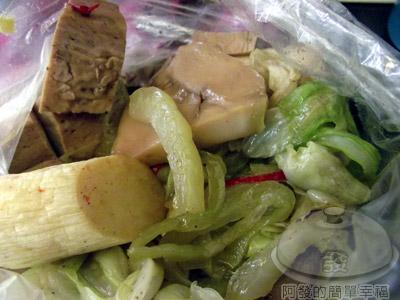 一品香滷味14-爽口的青菜