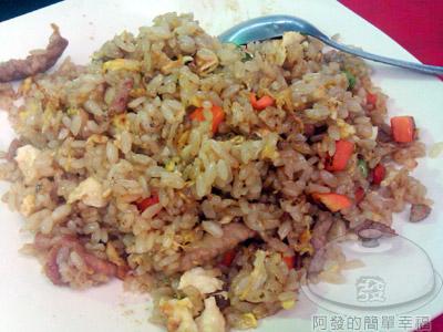 文化小吃店06-肉絲蛋炒飯