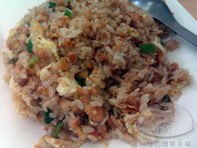 文化小吃店08-鮭魚蛋炒飯