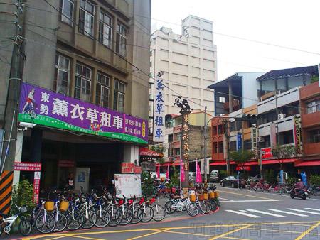 東勢-東豐自行車綠廊02形象商圈租車店家
