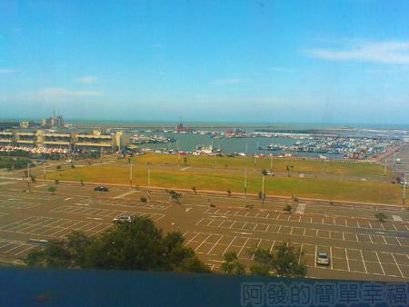 新竹-南寮漁港15旅客服務中心-俯望新漁港風貌