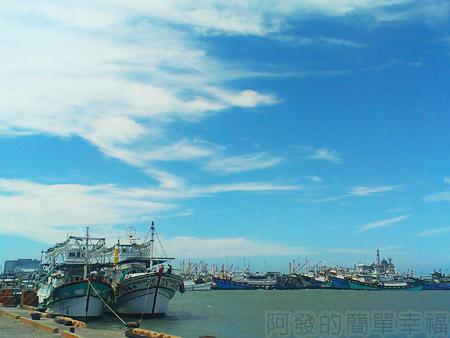 新竹-南寮漁港17新港一角