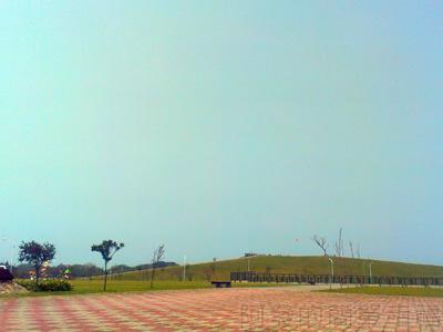八里騎車趣07-十三行文化公園