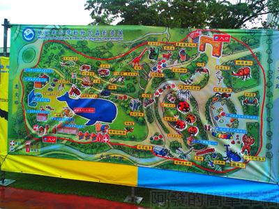 紙風車台灣動物昆蟲創意展03-展區地圖