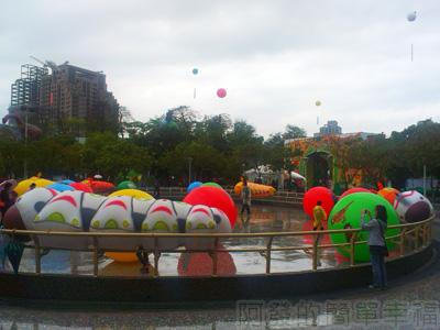紙風車台灣動物昆蟲創意展26-鳥球互動遊戲區