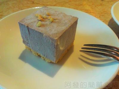 喫茶趣27-甜品-綠茶紫米慕思