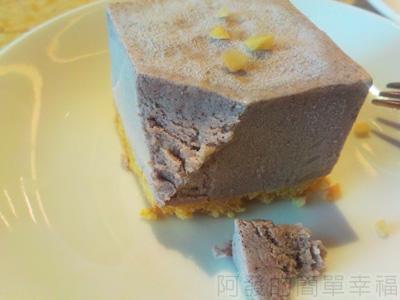 喫茶趣28-甜品-綠茶紫米慕思