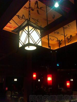 台中輕井澤09-吊燈