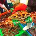 改建後的富基魚港10花蟹肥大甜美產季