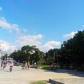大稻埕碼頭11由忠孝橋方向回頭觀看碼頭的景緻
