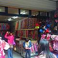 南庄老街02賣客家花布的店家