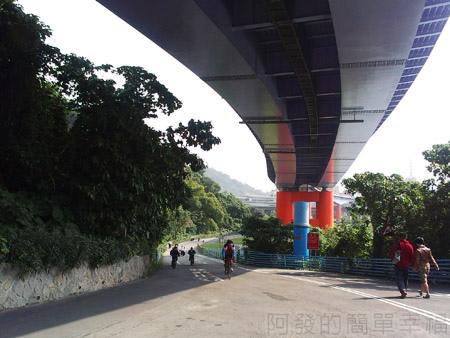 古亭河濱公園06永福橋往福和河濱公園-越堤坡道