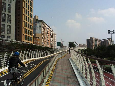 古亭河濱公園22古亭河濱公園跨堤天橋