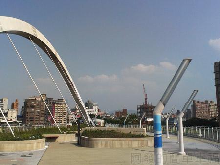 古亭河濱公園23古亭河濱公園跨堤天橋