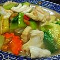 貢寮-黑白毛海鮮16-炒曼波魚