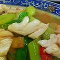 貢寮-黑白毛海鮮17-炒曼波魚