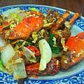 貢寮-黑白毛海鮮18-洋蔥炒蟹