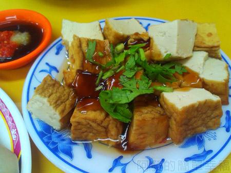 板橋-高益麵館09油豆腐